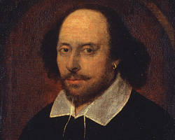 William Shakespeare--or is it? (Credit: National Portrait Gallery, London)