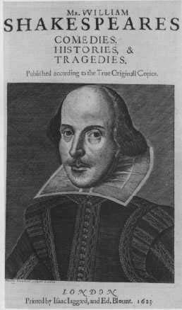 First Folio Cover